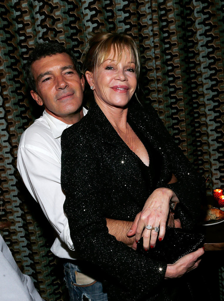 Melanie Griffith and Antonio Banderas
