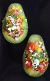 Avocado Shell Salad