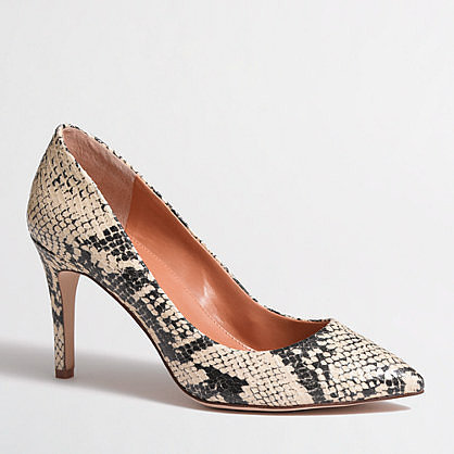 Factory Isabelle printed pumps