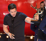 Mark Wahlberg accepted his award.