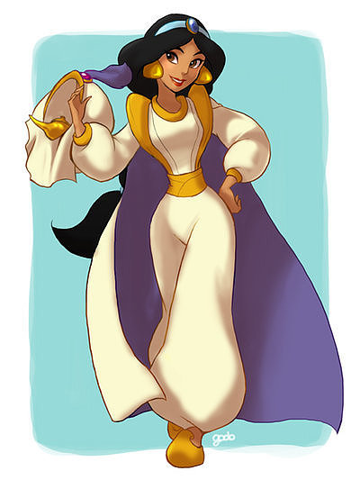 Cross-Dressing Jasmine