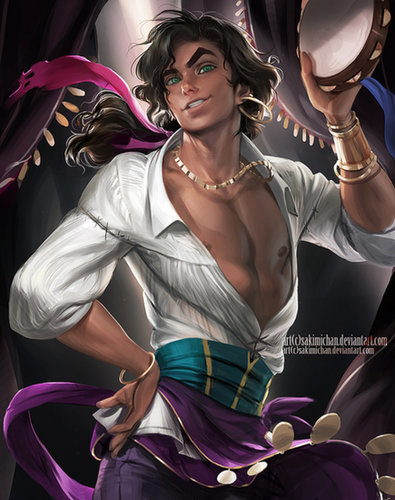 Gender-Flipped Esmeralda