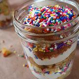 Confetti Cake in a Jar