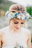 A Whimsical Floral Crown