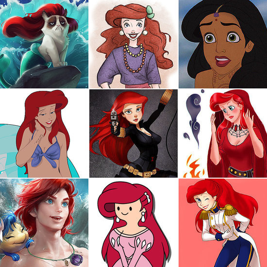 Disney Princesses Like You've Never Seen Them