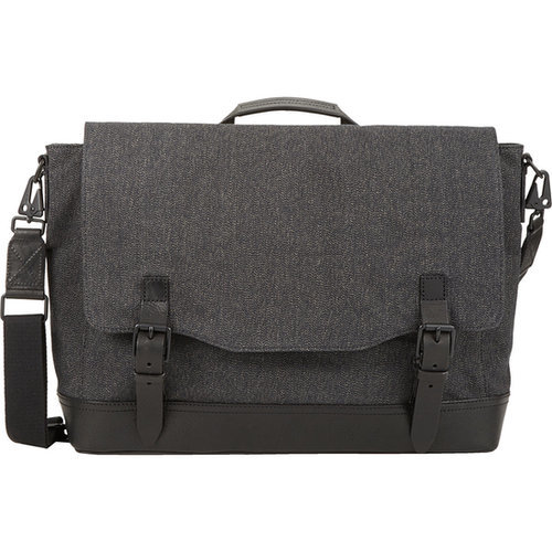 Rag & Bone Canvas Herringbone Messenger Bag