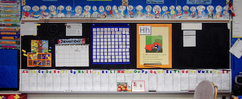 Are Kindergarten Classrooms Too Colorful?