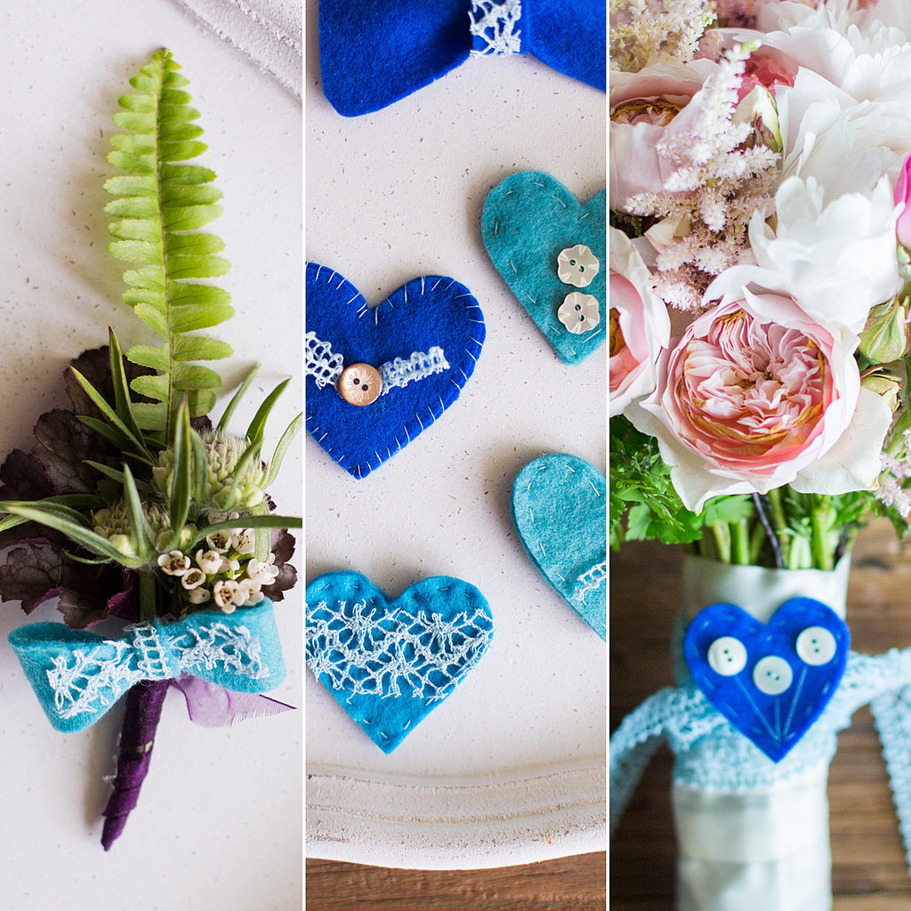 A Something Blue DIY You Can Use After the Wedding