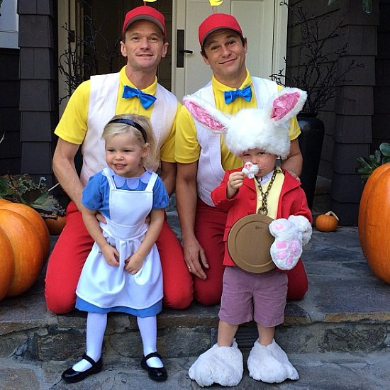 Neil Patrick Harris Cute Family Instagram Pictures