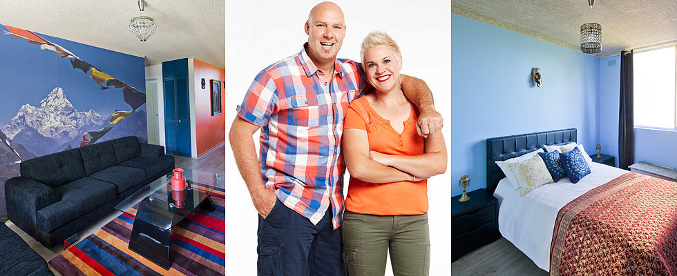 House Rules: Bomber and Mel Live to Renovate Another Space