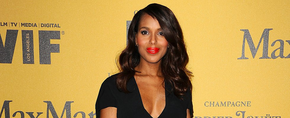 Kerry Washington Looks Gorgeous in Her First Appearance Post-Baby