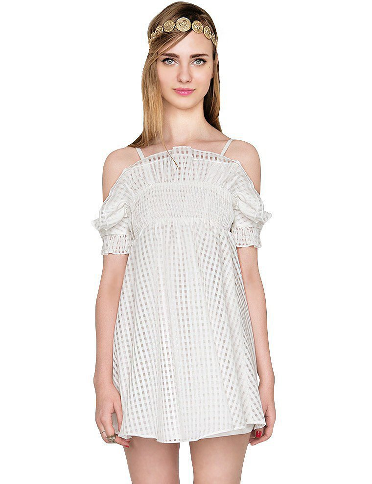Pixie Market Off-the-Shoulder Dress