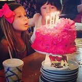 "Stella McDermott celebrated her birthday with her ""cousin"" Simone. Source: Instagram user torianddean"