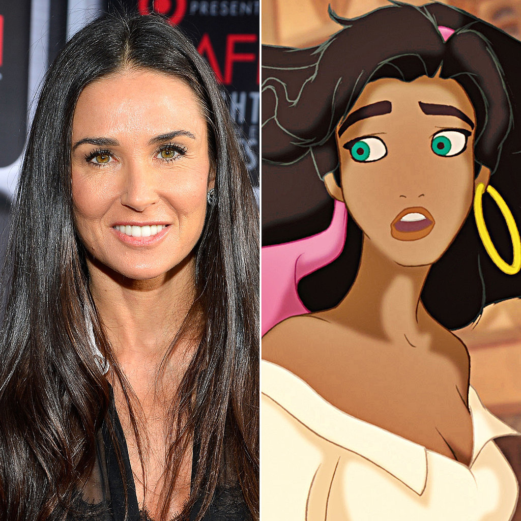 Demi Moore: Esmerelda in The Hunchback of Notre Dame