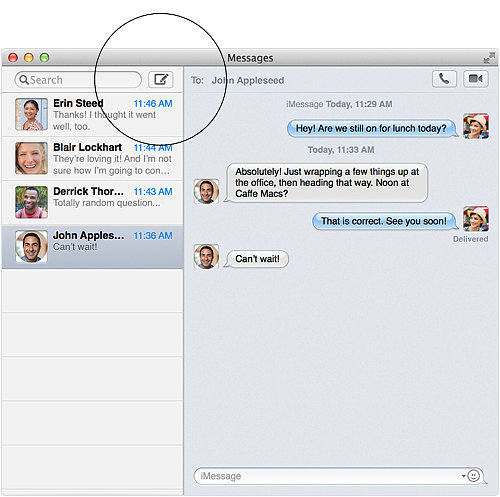 Send texts from your Mac.
