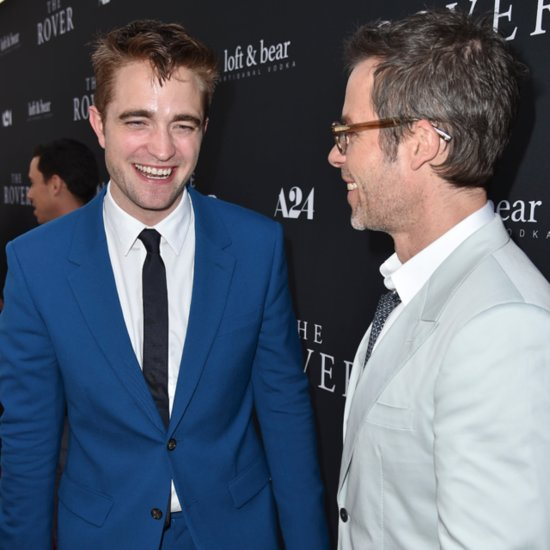 Robert Pattinson And Guy Pearce The Rover Premiere In LA