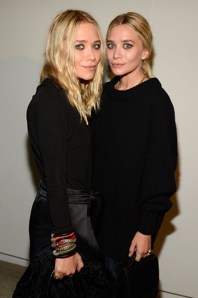 At the Estée Lauder Modern Muse fragrance launch party in 2013, Mary-Kate and Ashley both strayed away from their usually neutral makeup look for a dramatic smoky eye instead.