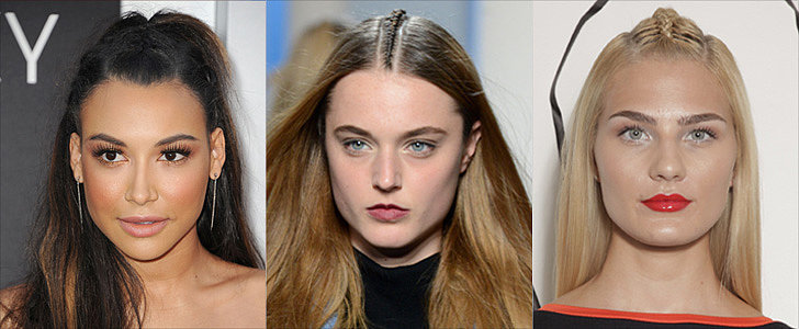 Introducing the Latest Braid Craze: The Center Plait