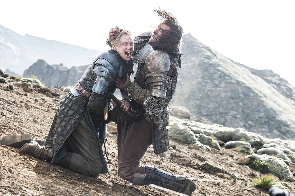 Brienne Bites The Hound's Ear Off