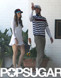 Jessica Biel and Justin Timberlake Celebrate Father's Day With Golf