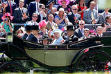 One Lucky Blonde Catches Prince Harry's Eye at Ascot