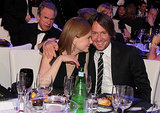 Nicole got close to her man in January 2011 at the Critics' Choice Movie Awards in LA.