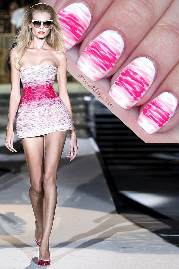 DIY the Hautest Pink Nail Art of Summer