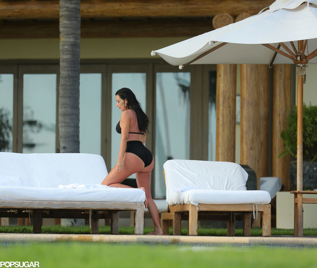 NSFW! Kim Kardashian's Revealing Mexico Bikini Photo Shoot