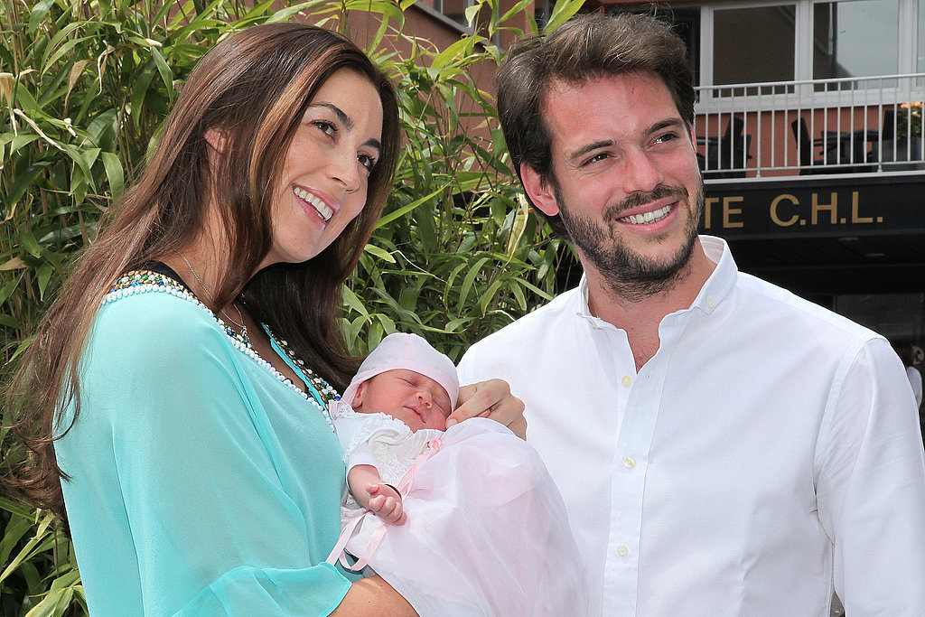 Prince Félix and Princess Claire of Luxembourg introduced their first child, Princess Amalia, to the world in June 2014.