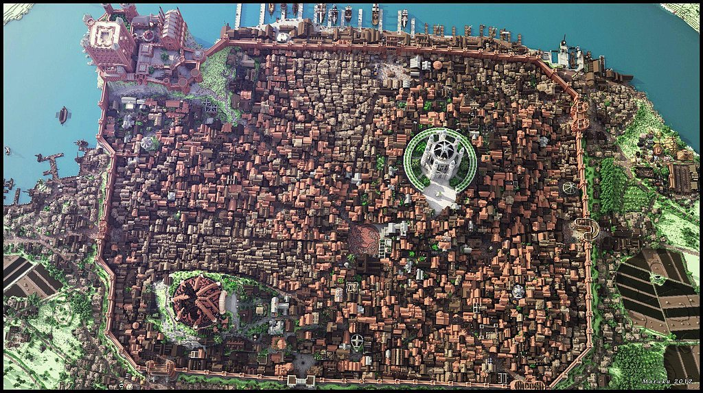 Minecraft x King'