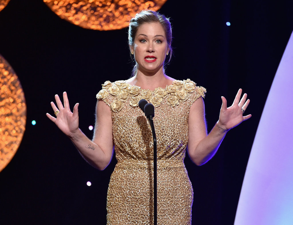 Christina Applegate stepped out into the spotlight.