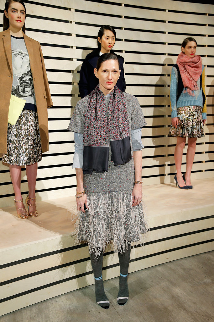 Jenna Lyons at the J.Crew Fall 2014 Presentation