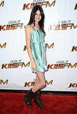 Her first solo red carpet was at Wango Tango in 2009.