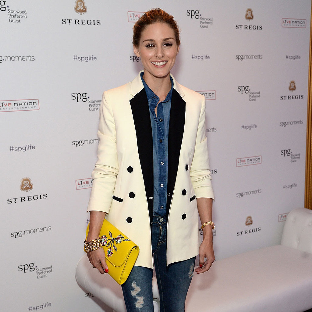 Olivia Palermo Denim-on-Denim Outfit