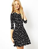 ASOS Star-Print Skater Dress