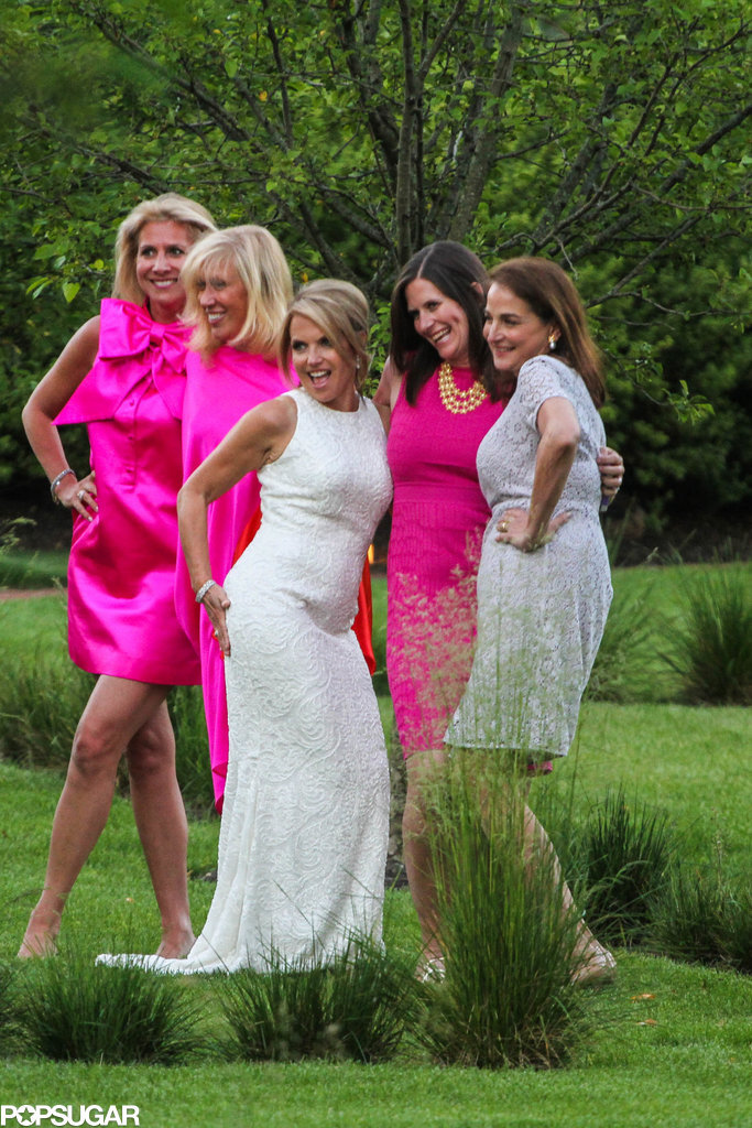 Katie let loose with her bridesmaids.  Kim and Kanye wedding pictures you haven't seen! Surprise — these stars flew under the radar with secret weddings