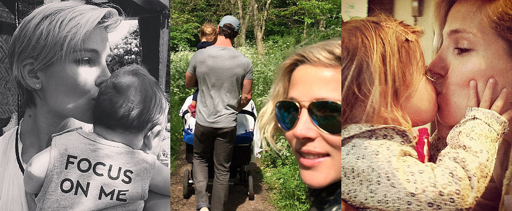 You Have to See Elsa and Chris' Sweet Family Snaps