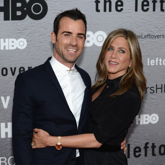 Jennifer Aniston & Justin Theroux at The Leftovers Premiere
