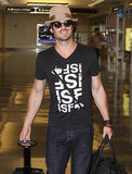 Ian Somerhalder smoldered his way into Washington D.C. on Monday.