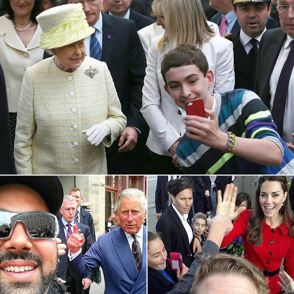 From Kate to the Queen: The Best Royal Selfies