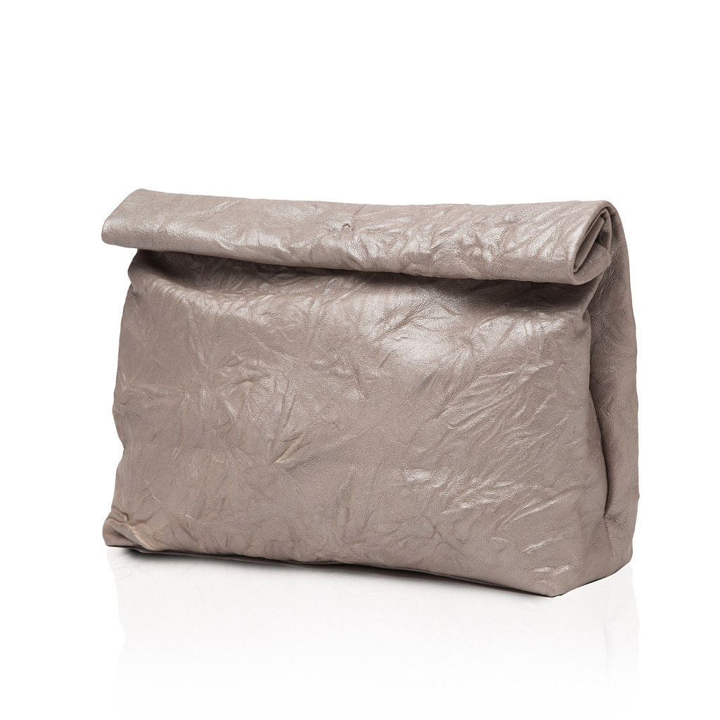 Marie Turnor The Lunch Metallic Gray Bag