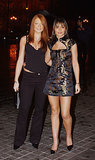 At Samantha Mumba's birthday party in 2004, Cheryl looked to the East in her embroidered dress.