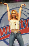 In 2005, Cheryl's go-to look was low-slung jeans, a big belt, and a tiny top.