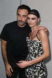 Riccardo Tisci and Candice Swanepoel After Givenchy