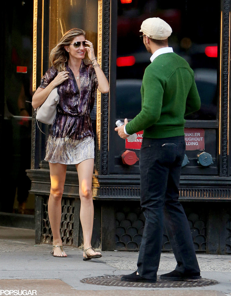 Gisele and Tom Heat Up the Streets of NYC