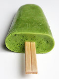 Green Tea and Avocado Popsicles