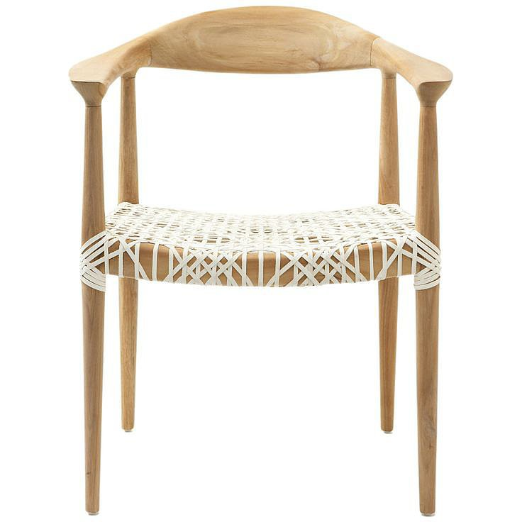 I've imagined this chair ($300) in my fantasy beach house for quite some time now, so imagine my surprise when I found it at Lowe's for a bargain of a price – score!  — AE