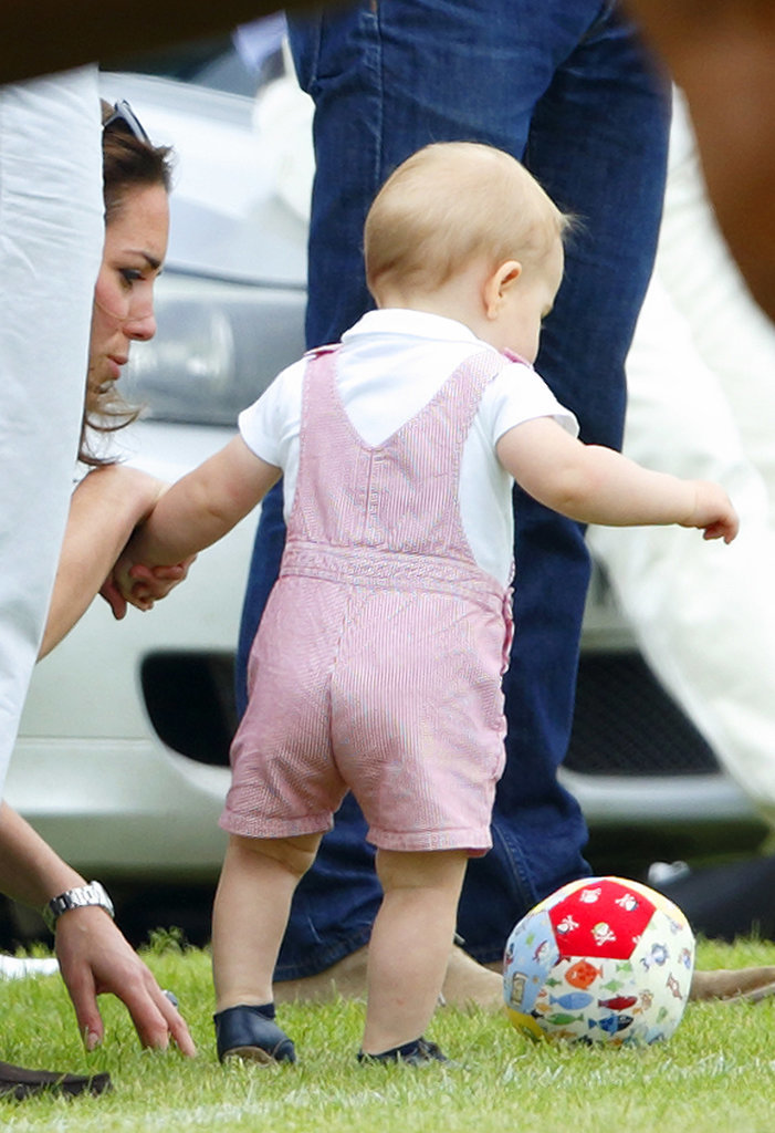 Prince George's First Soccer Dribble
