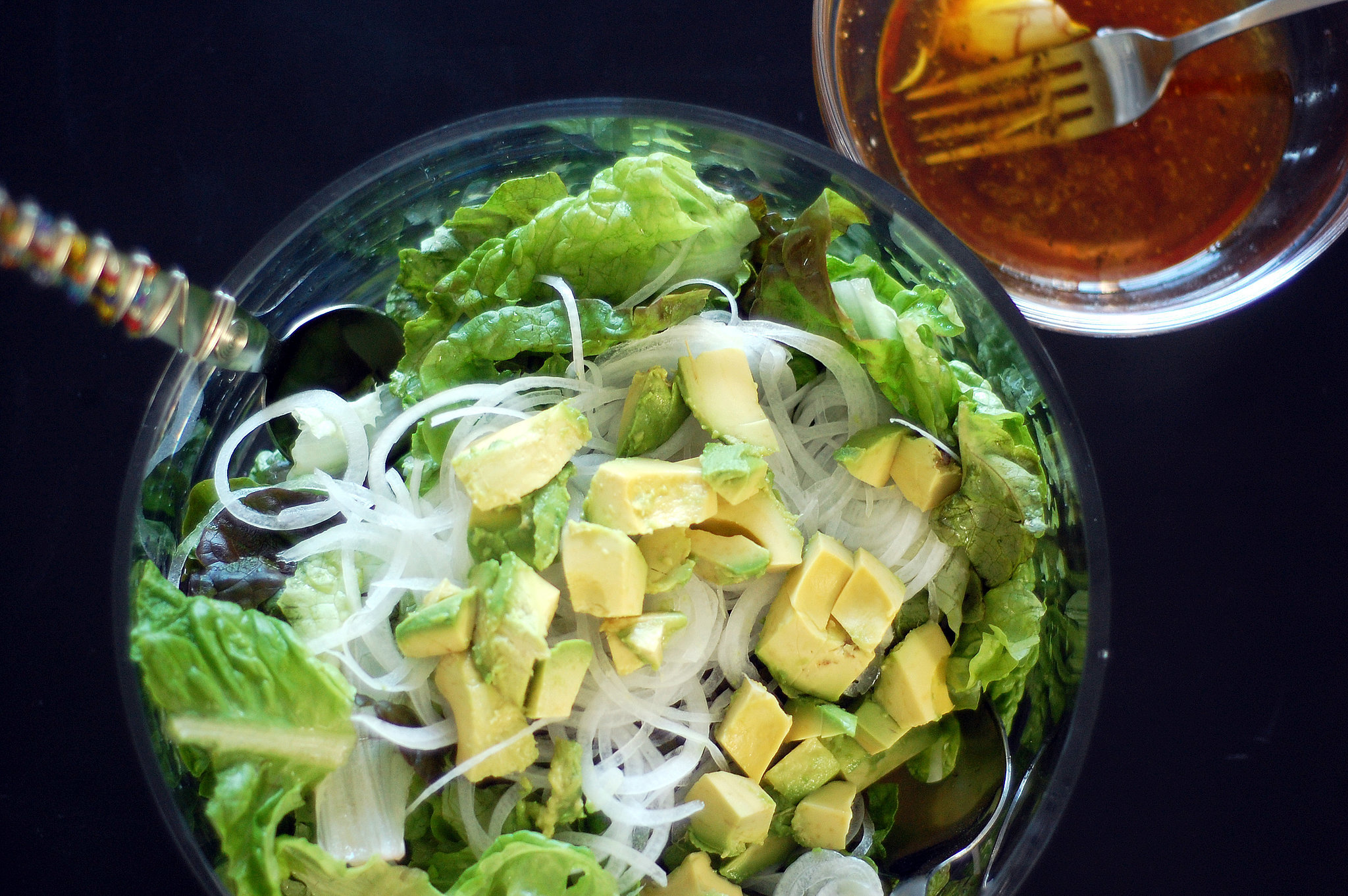 Green Salad With Red Wine Vinegar | POPSUGAR Food