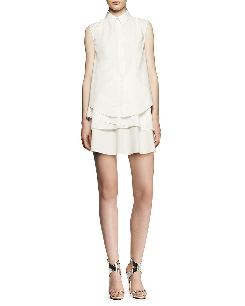 10 Crosby Derek Lam Ruffle Shirtdress